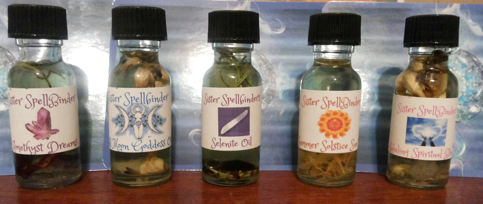 Sister SpellBinder Witch salts,powders,incense,Kits and More